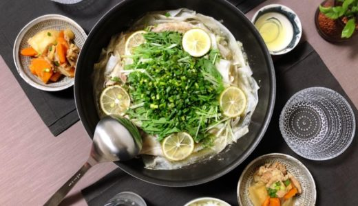 【簡単で美味しすぎる!】野菜たっぷり豚バラ大根鍋
