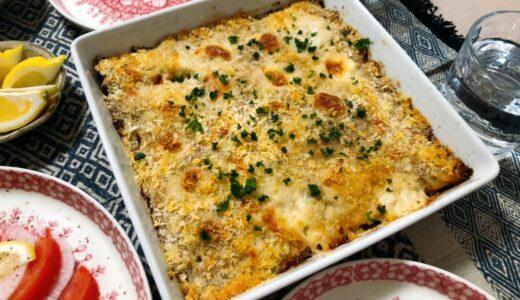 【オーブンレシピ】成形の手間なし!さっくりジューシーなスコップキャベツチーズメンチ