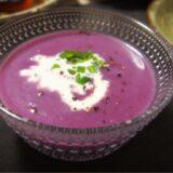 紫芋のポタージュ